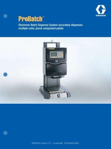 ProBatch™ - Spray Tech Systems Inc.