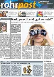 neue rohrpost als PDF. - SpreeGas