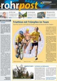 triathlon mit trümpfen im team - SpreeGas