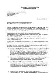 Gemeinsamer Installateurausschuss Stadtwerke und SpreeGas Nord