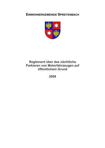 49 KB - Gemeinde Spreitenbach