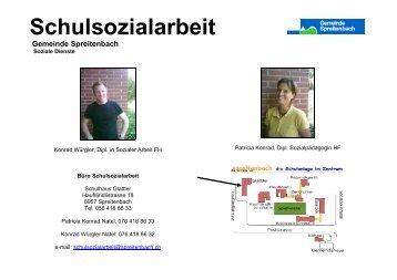 Was ist Schulsozialarbeit - Gemeinde Spreitenbach