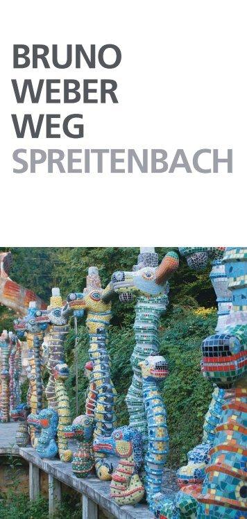 Skulpturenpark Bruno Weber, Prospekt und Wegbeschrieb