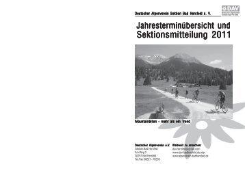 Jahresterminübersicht 2011 nicht montiert.p65 - Sektion Bad Hersfeld