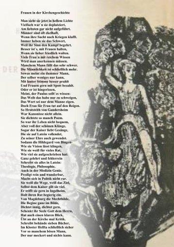 Frauen in der Kirchengeschichte