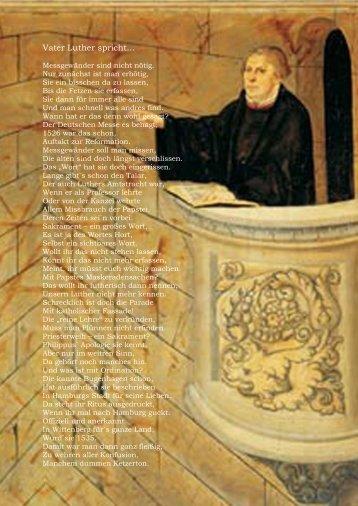 Vater Luther spricht