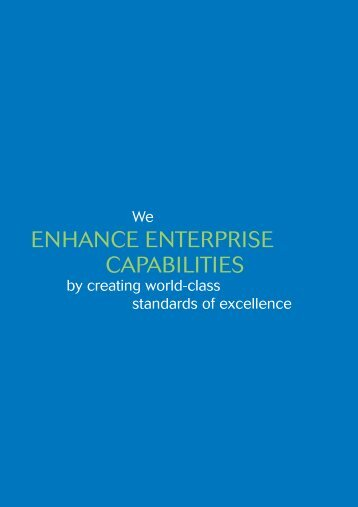 ENHANCE ENTERPRISE CAPABILITIES - Spring