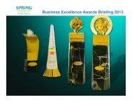 Award Application Guide - Spring