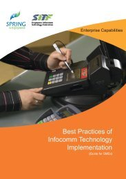 Best Practices of Infocomm Technology Implementation - Spring