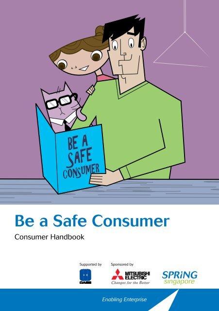 Be a Safe Consumer - Spring