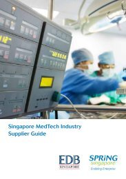 Singapore MedTech Industry Supplier Guide - Spring