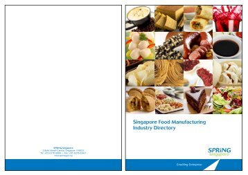 Singapore Food Manufacturing Industry Directory - Spring