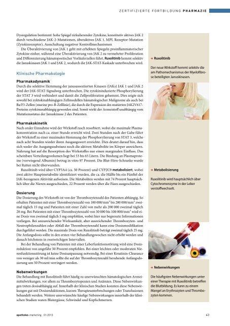 therapie der Myelofibrose - Springer GuP