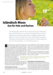 Isländisch Moos - Springer GuP