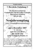 2. Dezember 2007 - Evangelische Martin-Luther-Gemeinde - Page 5