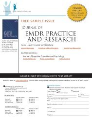 Journal of EMDR Practice and Research - Springer Publishing