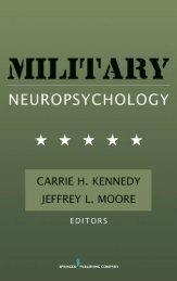 Military Neuropsychology - Springer Publishing