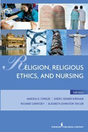 Religion - Springer Publishing