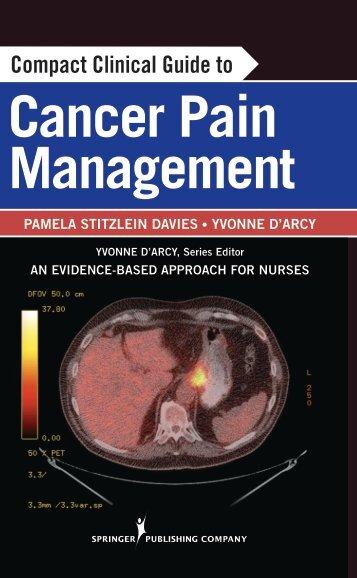 Cancer Pain Management - Springer Publishing