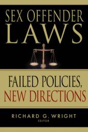 Sex Offender Laws - Springer Publishing