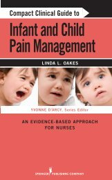 Compact Clinical Guide to Infant and Child Pain Management