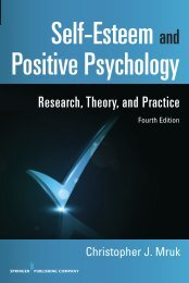Research, Theory, and Practice - Springer Publishing
