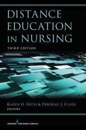 DISTANCE EDUCATION IN NURSING - Springer Publishing