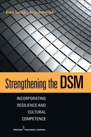 Strengthening the DSM - Springer Publishing