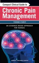 Compact Clinical Guide to Chronic Pain Management - Springer ...