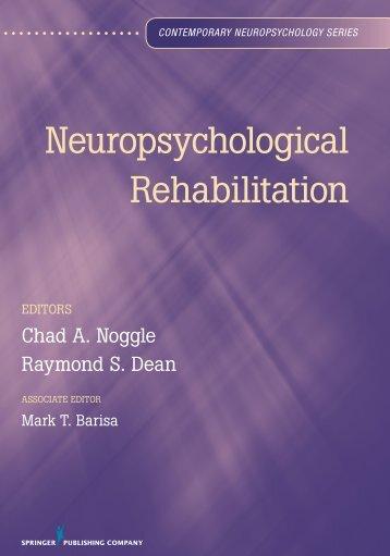 Neuropsychological Rehabilitation - Springer Publishing