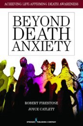 Beyond death anxiety - Springer Publishing