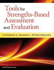 Tools for Strengths-Based Assessment and Evaluation - Springer ...