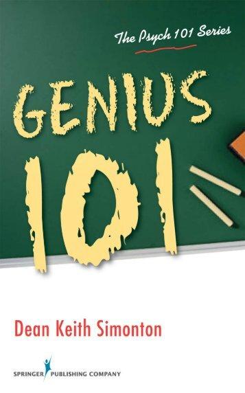 Creativity 101 - Springer Publishing