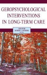 Geropsychological interventions in long-term care - Springer ...