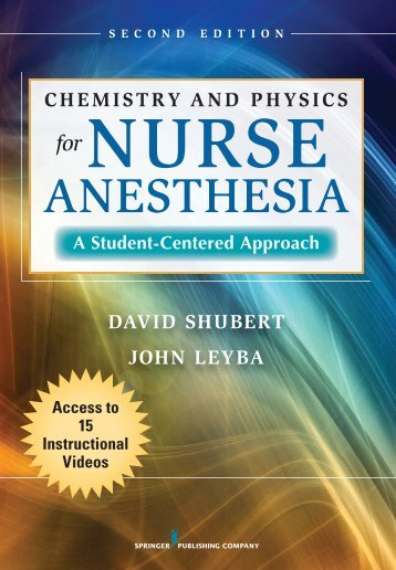 Chemistry and Physics for Nurse Anesthesia - Springer Publishing