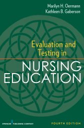 Evaluation and Testing in - Springer Publishing