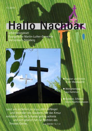 Jahre wieder: Adventskonzert - Evangelische Martin-Luther-Gemeinde