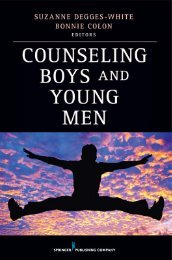 Counseling Boys and Young Men - Springer Publishing
