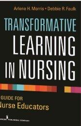 Transformative Learning In Nursing - Springer Publishing