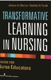 Transformative Learning In Nursing - Springer Publishing
