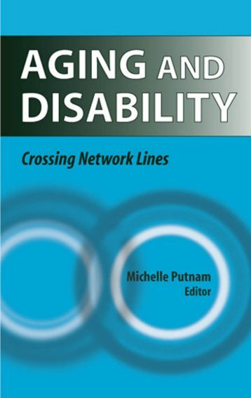Aging and Disability - Springer Publishing