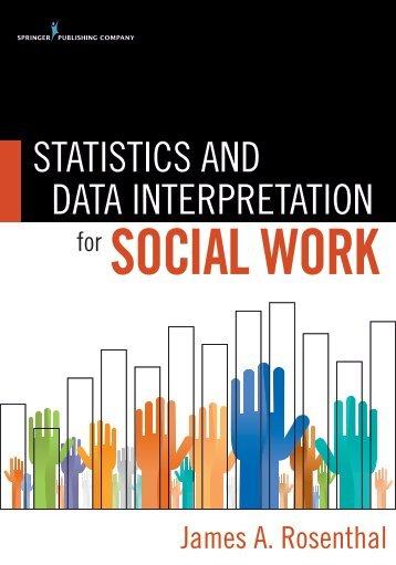 STATISTICS AND DATA INTERPRETATION - Springer Publishing
