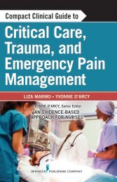 Critical Care, Trauma, and Emergency Pain Management - Springer ...