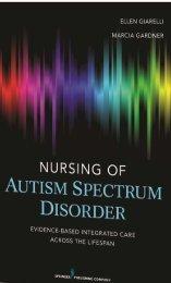 Nursing of Autism Spectrum Disorder - Springer Publishing