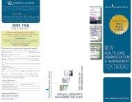 2012 Health Administration Management Textbooks - Springer ...