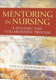 Mentoring in Nursing - Springer Publishing