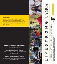 LIVESTRONG at the Y Brochure - YMCA