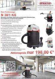 Bärenstark und effizient, ideal für den professionellen ... - Sprintus