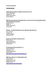 Vereinsverzeichnis sonstige Vereine ... - Sprockhövel