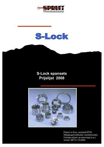 S-Lock Spanelementen - Spruit Transmissies BV